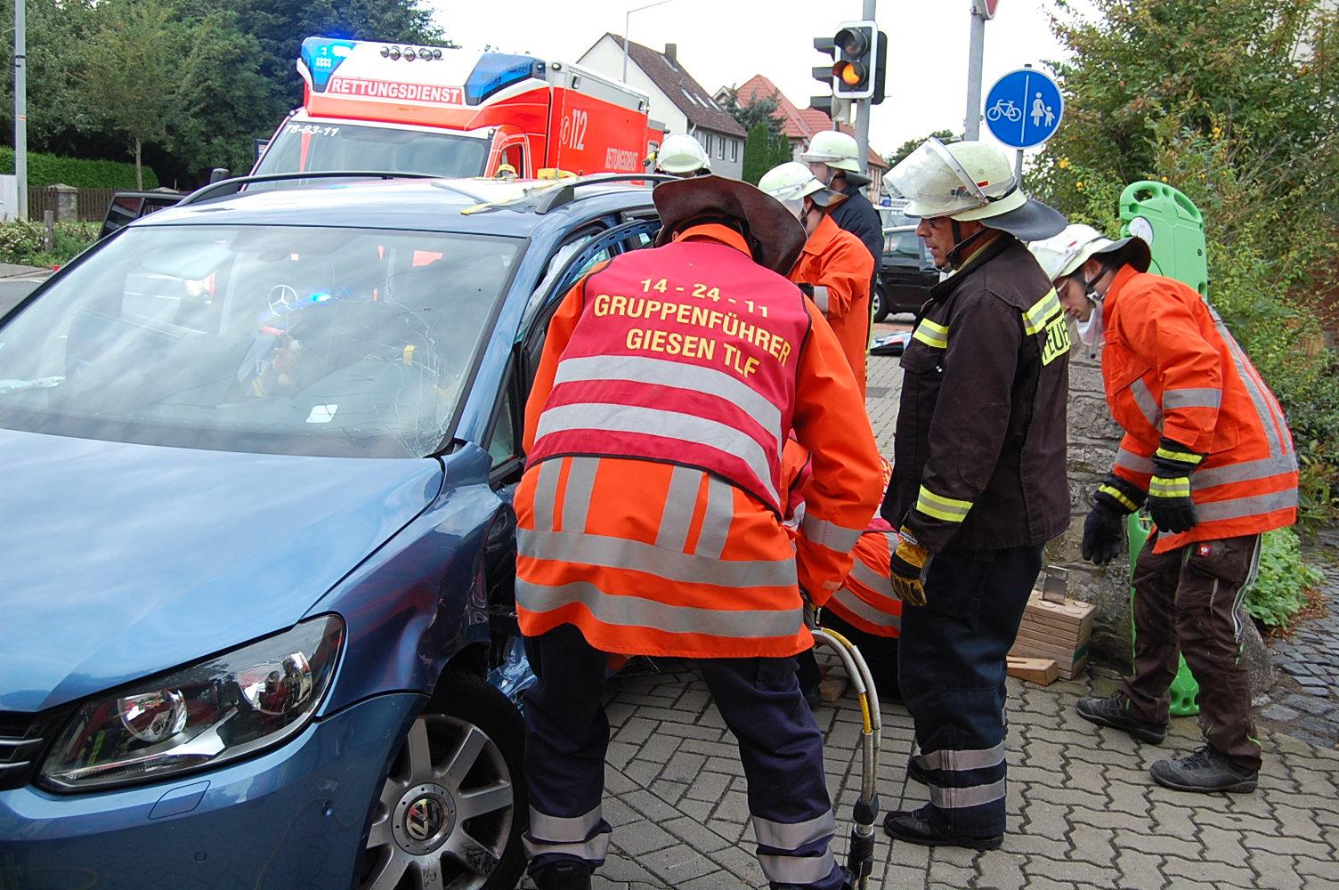 Schwerer Unfall in Haseder 018