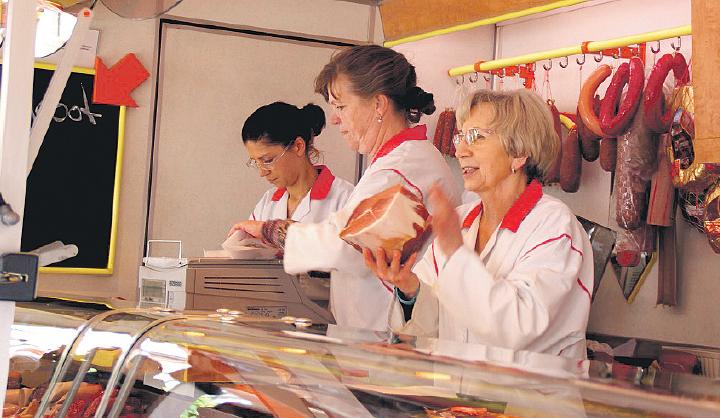 Sarstedt Wochenmarkt Markt Hoppe