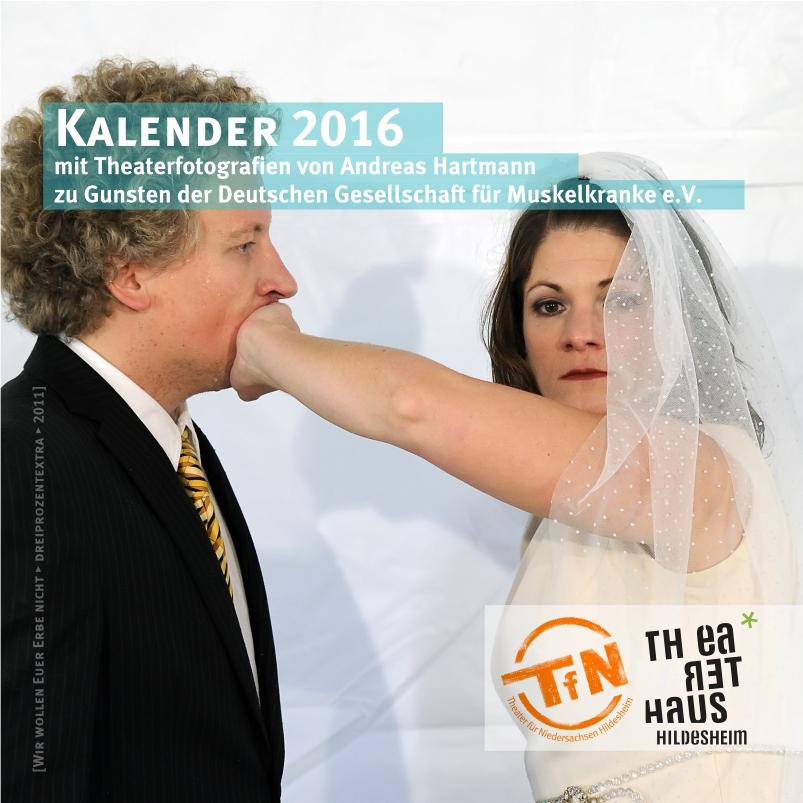 Spenden Cover ALS Tischkalender