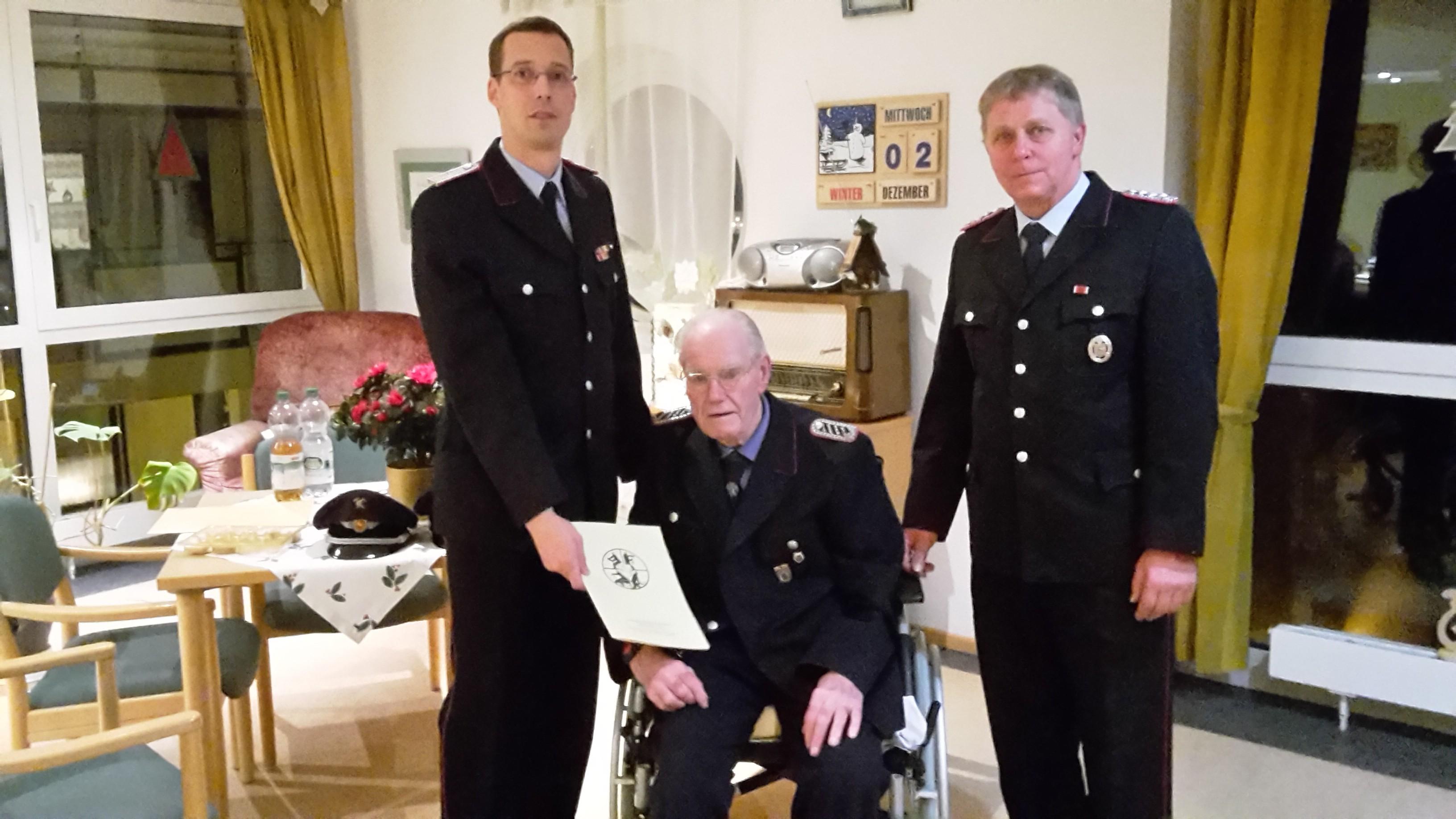 70 Jahre Feuerwehr