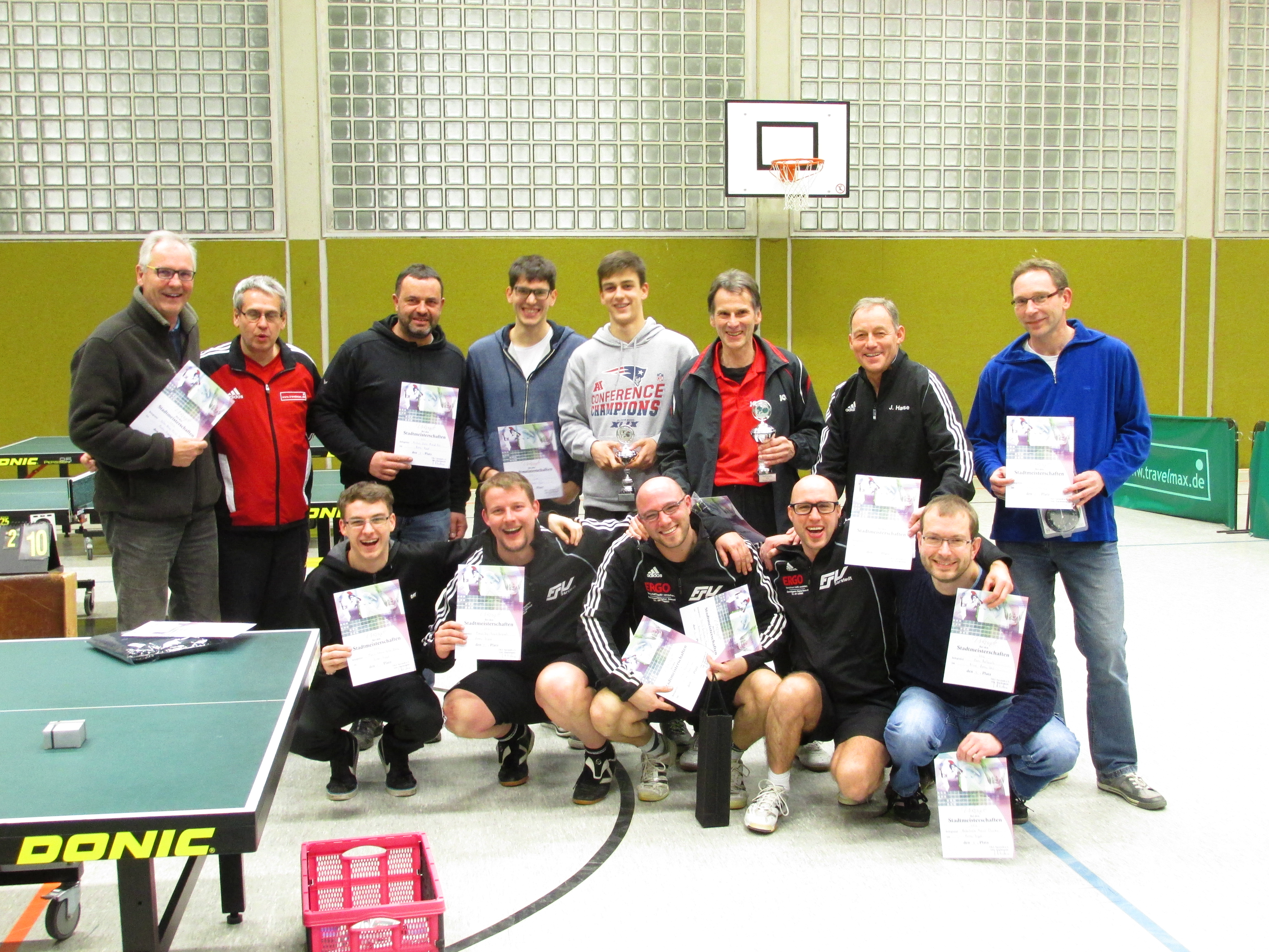 Tischtennis - Stadtmeisterschaft