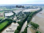 Sarstedt Hochwasser Ruhe Innerste Überflutung